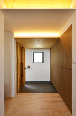 Baños de estilo  por 鎌田建築設計室