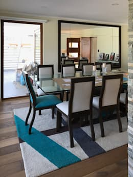 modern Dining room by AtelierStudio