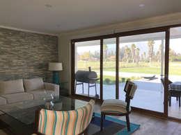 modern Living room by AtelierStudio