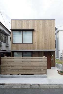 江戸川区K邸: スタジオ・スペース・クラフト一級建築士事務所が手掛けた木造住宅です。