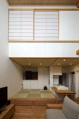 江戸川区K邸: スタジオ・スペース・クラフト一級建築士事務所が手掛けた和室です。