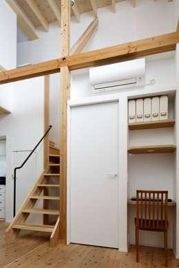 江戸川区K邸: スタジオ・スペース・クラフトが手掛けた書斎です。
