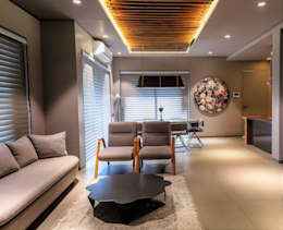 DRAWING ROOM : modern Living room by DESIGNER'S CIRCLE