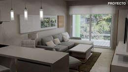 Proyecto integral de diseño:  de estilo  por Fernan Etcheverry Diseño Interior
