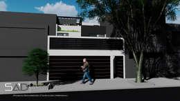 Fachada Exterior: Casas de estilo moderno por Studio Arch'D Arquitectos