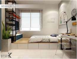 ห้องนอน by Công ty TNHH TMDV Decor KT