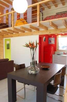 Столовые комнаты в . Автор – Rusticasa