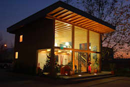 RUSTICASA   Casa modelo   Vila Nova de Cerveira: Casas de madeira  por Rusticasa
