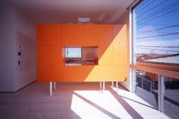 スピンオフ: Smart Running一級建築士事務所が手掛けたキッチン収納です。