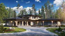 Casas de estilo escandinavo por Naturi