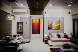 Living Area: modern Living room by Vinayak Interior | Interior Designing and Decorator Companies