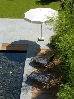 Garden Pond by Architetkurbüro Schulz-Christofzik