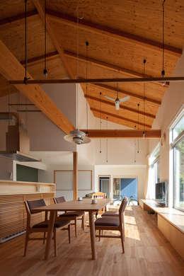 やすらぎの家: 株式会社 井川建築設計事務所が手掛けた屋根です。