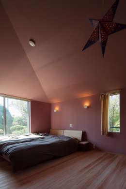 やすらぎの家: 株式会社 井川建築設計事務所が手掛けた寝室です。