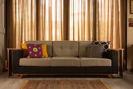 eclectic Living room تنفيذ Mazura