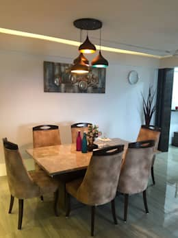 Dining table: modern Dining room by Vinayak Interior | Interior Designing and Decorator Companies