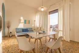 minimalistic Dining room by Anna Leone Architetto Home Stager