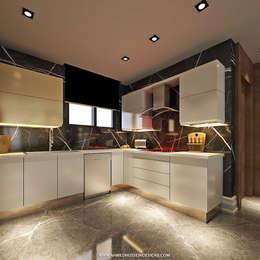 مطبخ تنفيذ ahmed hussein designs