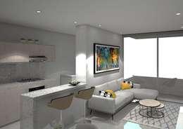 : Salas de estilo moderno por Savignano Design