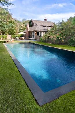Hồ bơi trong vườn by andretchelistcheffarchitects