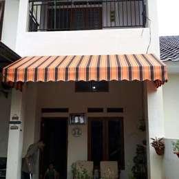 Canopy Kain Bogor:  Balconies, verandas & terraces  by bintang canopy