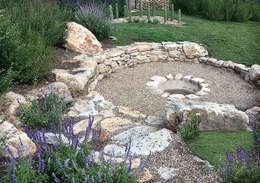 Projekty,  Ogród zaprojektowane przez Hábitas