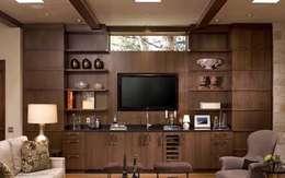Residential Interior :  Kitchen units by Manoj Interior Decorator