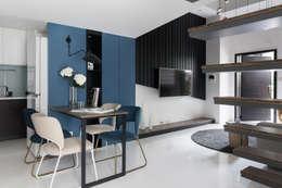 爵士藍調:  餐廳 by 寓子設計