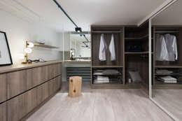 爵士藍調:  更衣室 by 寓子設計