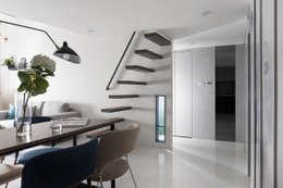 爵士藍調:  通道 & 走廊 by 寓子設計
