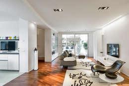 Projekty,  Salon zaprojektowane przez Arch. Antonella Laruccia