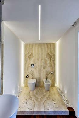 Projekty,  Łazienka zaprojektowane przez Arch. Antonella Laruccia