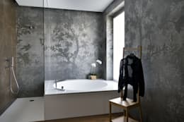 Banheiros modernos por CN Arredamento Design Srl