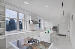 modern Kitchen by andretchelistcheffarchitects