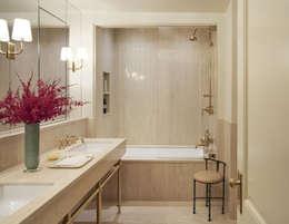 West Village Townhouse: classic Bathroom by andretchelistcheffarchitects