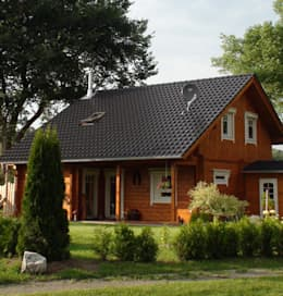 كوخ تنفيذ Finnscania Blockhausfabrik