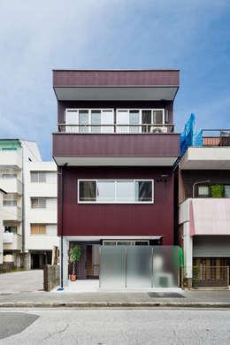 リノベーション後:外観: キリコ設計事務所が手掛けた家です。