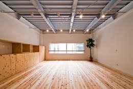 リノベーション後:2階リビング: キリコ設計事務所が手掛けたリビングです。