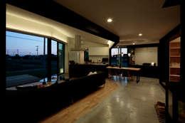 加須の家: arc-dが手掛けたリビングです。
