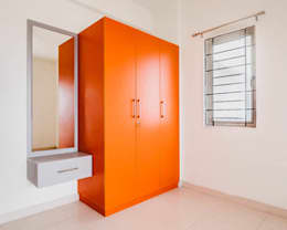 Affordable interior designers in bangalore : modern Bedroom by Urban Living Designs