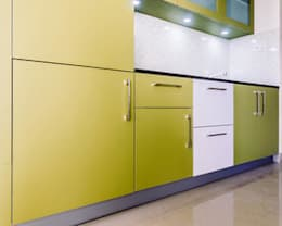 wardrobe design ideas: modern Bedroom by Urban Living Designs