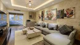 غرفة المعيشة تنفيذ Hany Saad Innovations