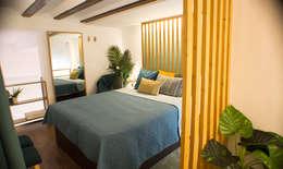 Projekty,  Sypialnia zaprojektowane przez SH Interiorismo