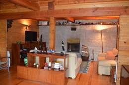 غرفة المعيشة تنفيذ Rusticasa