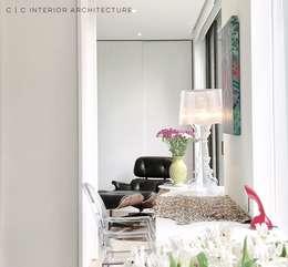 APARTAMENTO ROSALES | Residencial: Estudios y despachos de estilo moderno por C | C INTERIOR ARCHITECTURE