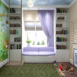 classic Nursery/kid's room by Loft&Home
