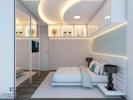 moderne Schlafzimmer von Caio Pelisson - Arquitetura e Design