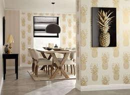 SK Concept Duvar Kağıtları ve Kumaş  – Markalarımız: tropikal tarz tarz Yemek Odası