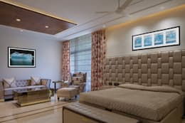Gujral Residence: modern Bedroom by groupDCA