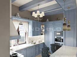 Интерьер кухни в стиле прованс: Кухни в . Автор – Frandgulo
